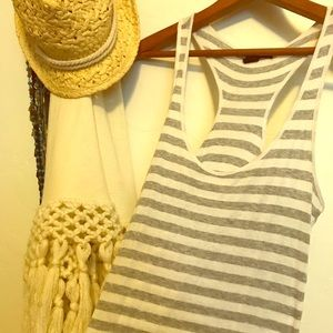 Stripes on stripes tank